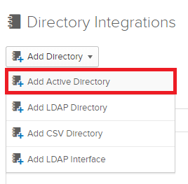 Add Active Directory