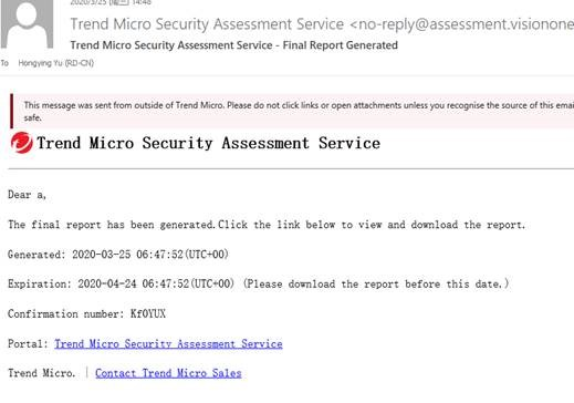 White-labeled Security Assessment Service